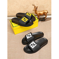 Fendi Men's Leather Fashion Sandals