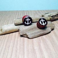 Wooden Anchor Plugs.