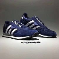 """Adidas Racing 1 Protoype"" Men Sport Casual Stripe Retro Sneakers Running Shoes"