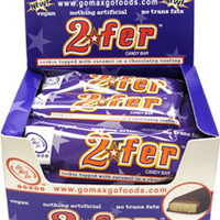 2fer Vegan Candy Bar by Go Max Go Foods - box of 12 **NEW & IMPROVED!** – VeganEssentials Online Store