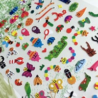 Insects Stickers forest animal party cartoon Insects cute Critters ant mini Bugs snake worm jungle forest Camping stickers