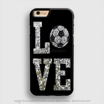 Love Cheer Soccer iPhone 6 Plus Case iPhone 6S+ Cases