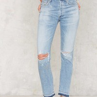 Citizens of Humanity Liya Shadow Pocket Jeans