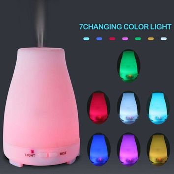 Aromatherapy Diffuser-Ultrasonic Cool Mist Humidifier 7-Color LED 200ML