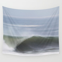 Playing with Blur Wall Tapestry by Tiago Costa