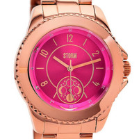 NEW ZIRONA RG-MAGENTA STORM WATCH ROSE GOLD PINK RRP £159 Las One last chance
