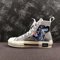 Sorayama x Dior B23 Oblique High Top Sneaker