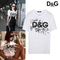 KU-YOU Dolce And Gabbana Have a beautiful Life T-shirt