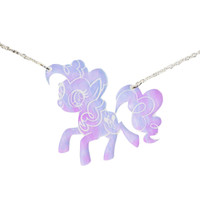 PINKIE PIE MY LITTLE PONY HOLOGRAM NECKLACE