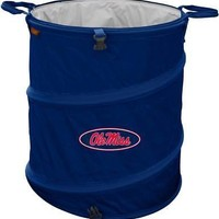 Licensed MISSISSIPPI REBELS OFFICIAL LOGO TRASH CAN COOLER KO_19_1