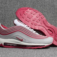 Nike Air Max 97 Red wine Running Shoes Size 40-47