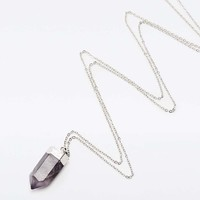 Dipped Crystal Necklace - Urban Outfitters