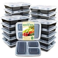 Meal Prep Containers [20 Pack]
