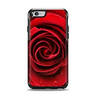 The Layered Red Rose Apple iPhone 6 Otterbox Symmetry Case Skin Set