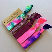 The Stassi Elastic Hair Tie Ponytail Holder Collection by Elastic Hair Bandz