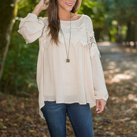 Pleasantly Perfect Top, Ivory