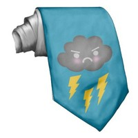 Stormy Weather Tie from Zazzle.com