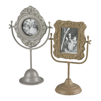 Set Of 2 Pastel Tone Picture Frames