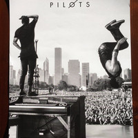 Twenty One Pilots - Lollapalooza 2015 Collectors Edition Poster