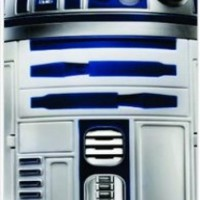 Star Wars R2D2 White Hard Snap on Case Cover for Apple Iphone 4, Iphone 4 Universal: Verizon - Sprint - At&t - Great Affordable Gift!
