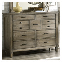 Legacy Classic Furniture Brownstone Village 9 Drawer Dresser