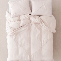 Marta Geo Roping Duvet Cover | Urban Outfitters