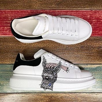 Alexander McQueen Classic white shoes-41