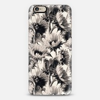 Sunflowers Forever - Monochrome iPhone 6 case by Micklyn Le Feuvre | Casetify