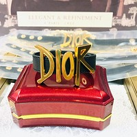 Dior CD Classic Ladies Bracelet Fashion Exaggeration Big Logo Bracelet