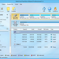 Minitool Partition Wizard Pro 9.1 Crack + Key Full Version Free Download