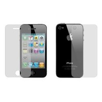 SODIAL Anti-Glare Matted Double-Sided Screen guard protector for iPhone 4 4G