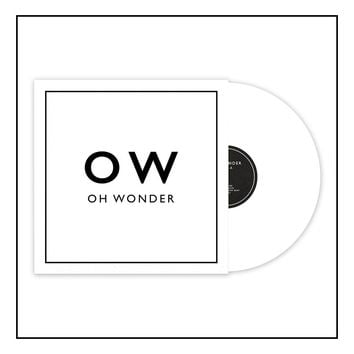 Oh Wonder Signed Double White Vinyl