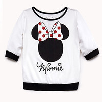 Glittered Minnie Top (Kids) | FOREVER 21 - 2000074872