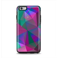 The Raised Colorful Geometric Pattern V6 Apple iPhone 6 Plus Otterbox Symmetry Case Skin Set