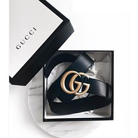 Gucci men and women's fashion belts