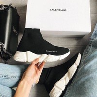 shosouvenir  Balenciaga Woman Men Fashion Breathable Sneakers Running Shoes