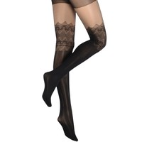 Flower Lace Design Tights