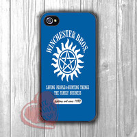Supernatural Winchester brothers art - 4n for iPhone 4/4S/5/5S/5C/6/ 6+,samsung S3/S4/S5,samsung note 3/4