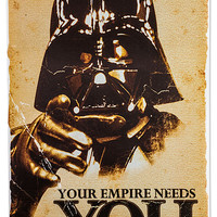 Star Wars The Empire Needs You Poster