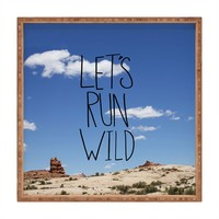 Leah Flores Lets Run Wild X Moab Square Tray
