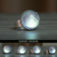 Ghost Ocean Color Shifting Ring