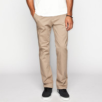 Rsq New York Mens Slim Straight Chino Pants Dark Khaki  In Sizes
