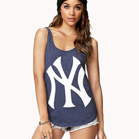 Heathered NY™ Yankees™ Tank