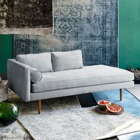 Monroe Mid-Century Chaise Lounger