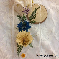 iPhone 6 case iPhone 6 plus Pressed Flower, iPhone 5/5s case, iPhone 4/4s case, 5c case Galaxy S4 S5 Note 2 note 3 note 4  Real Flower case