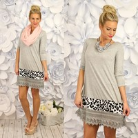 Hunt You Down Tunic Dress