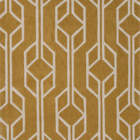 Jaipur Rugs Modern Geometric Pattern Yellow/Gold Polyester Area Rug FN37 (Rectangle)