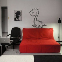 Kids Dinosaur Dino Nursery Room Wall Art Sticker Decal b380