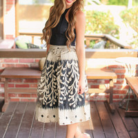 No Questions Asked Skirt - Black