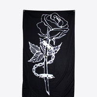 """CHAINED ROSE TAPESTRY 36"""" x 60"""""""